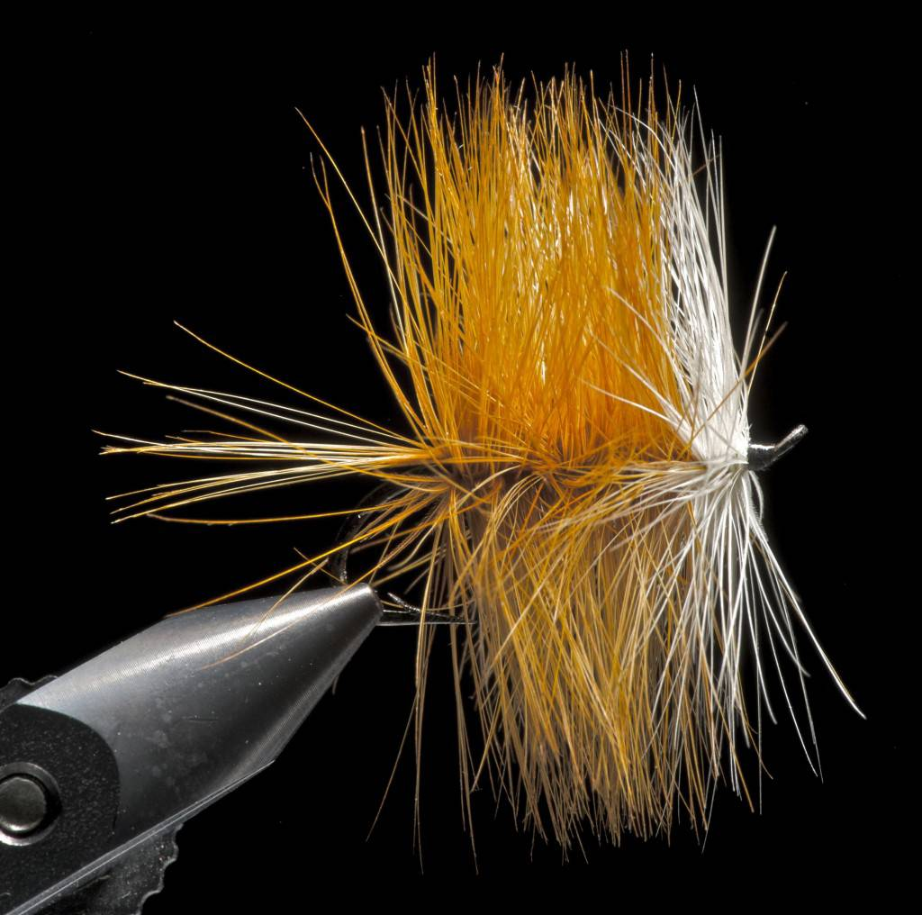 Traditional salmon dry fly 1920`s