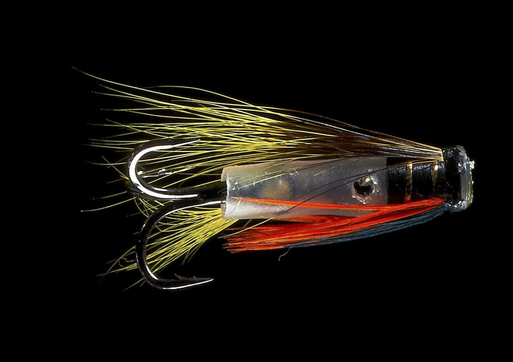 Hitch tube fly from Fishmadman
