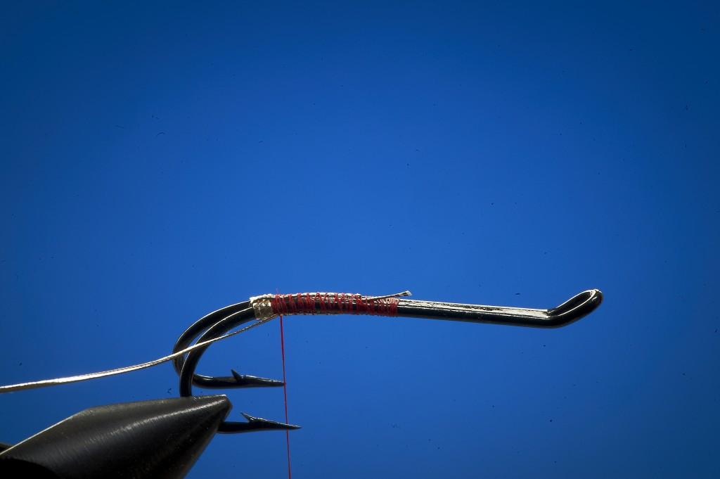 Tying shrimp flies