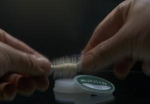 Preparing deer hair flies