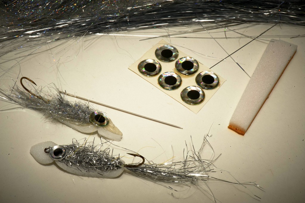The Surffilauta tied as tube fly