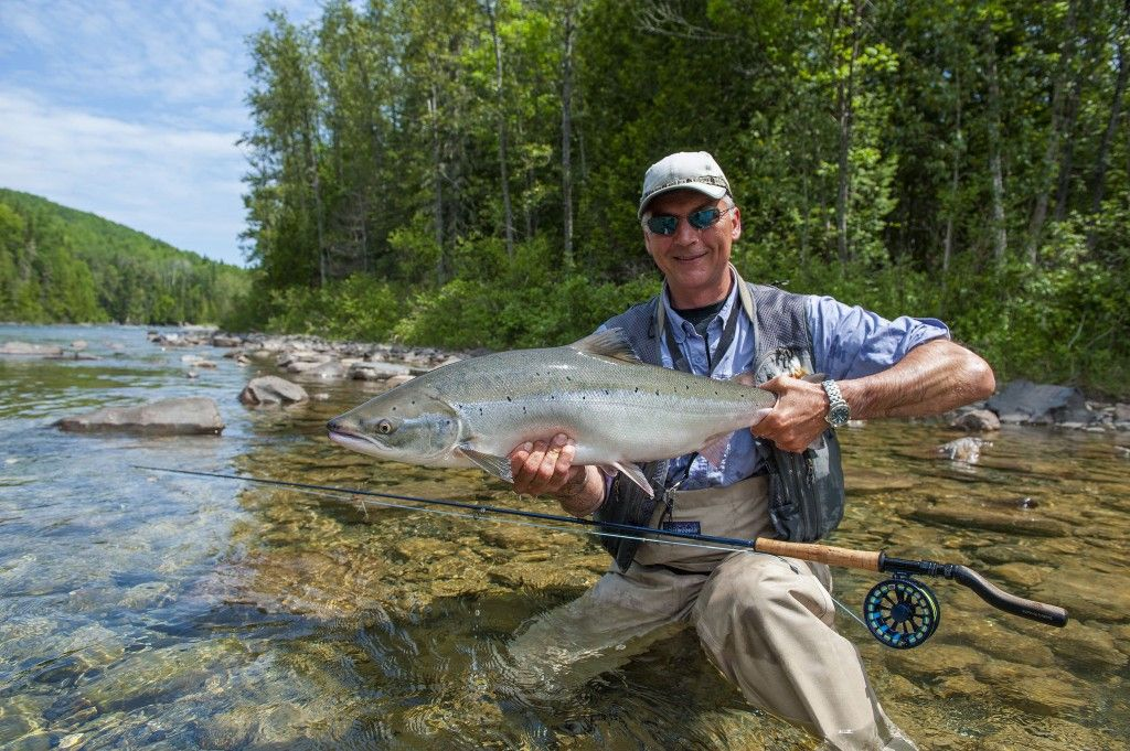 Henrik Mortensen monster Tube caddis salmon dry fly