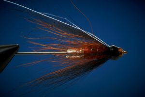Tying the Black & Orange Copper tube fly 5