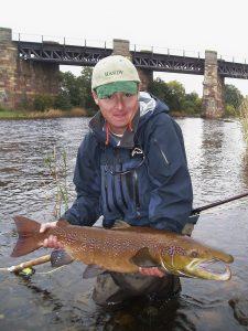 Male Autom salmon North Esk