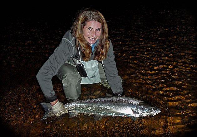 Miss Tina Dean Atlantic Salmon On Tube Bomber