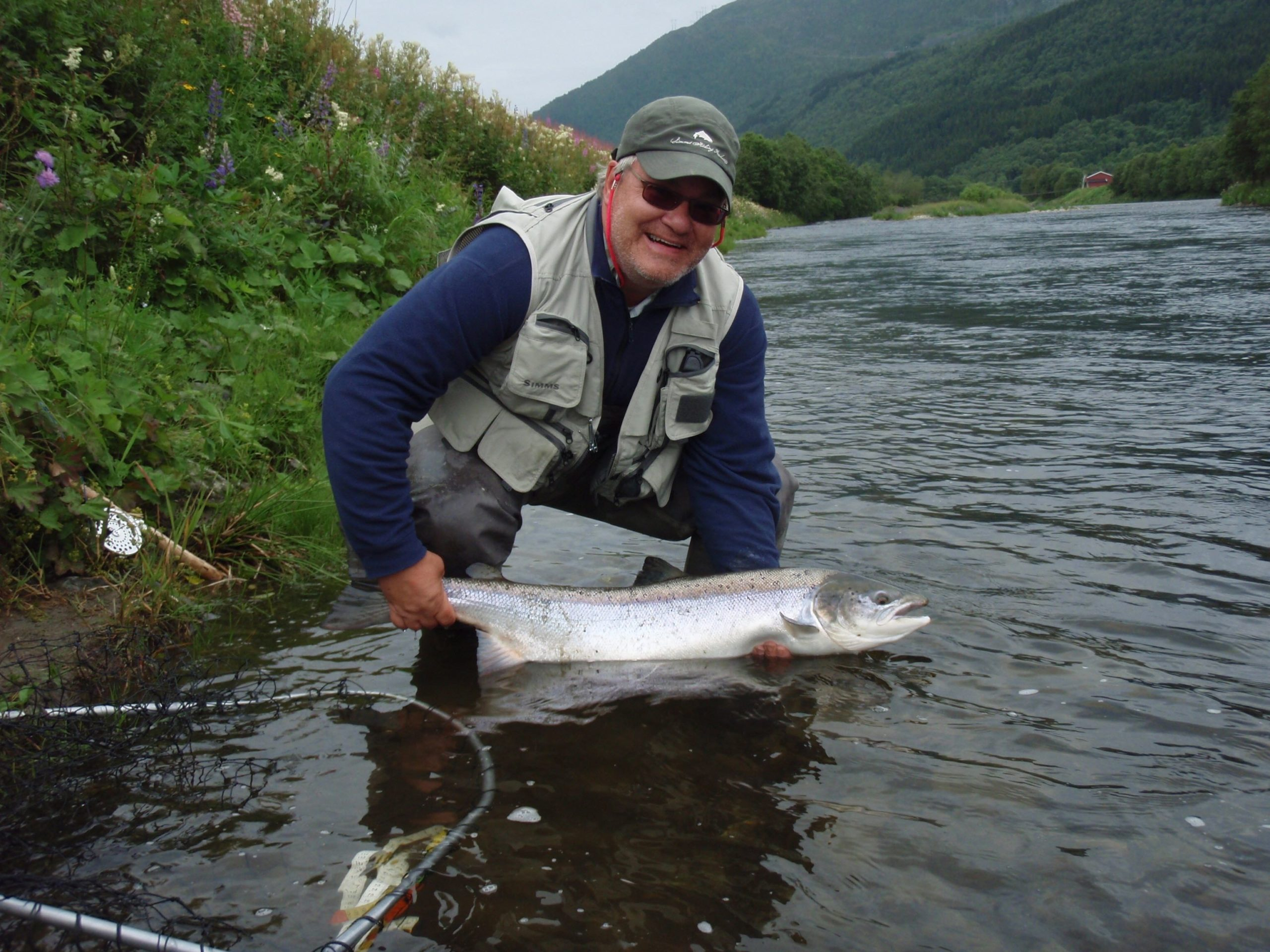 Pär Jansson salmon on Chernobyl ant