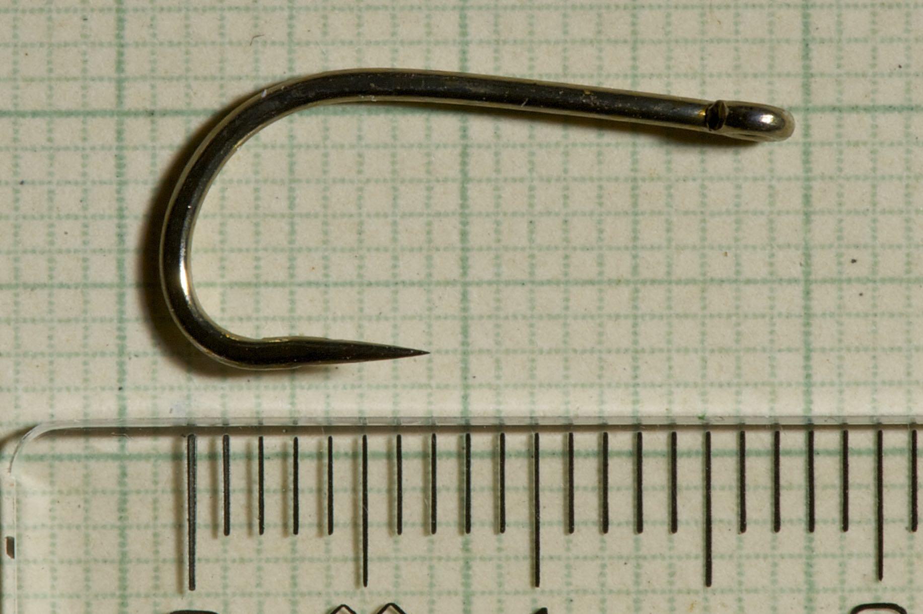 Drennan Barbless Super Specialist size 4...tube fly hook
