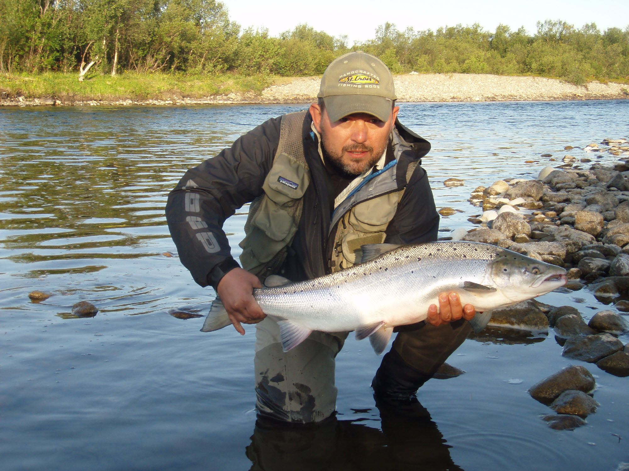 Anders Kok salmon on tube bomber