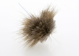 Tying salmon dry flies