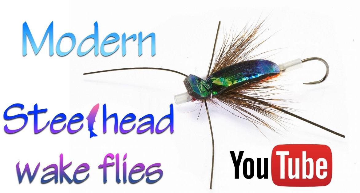 The FlashBack Bug Steelhead Wake Fly