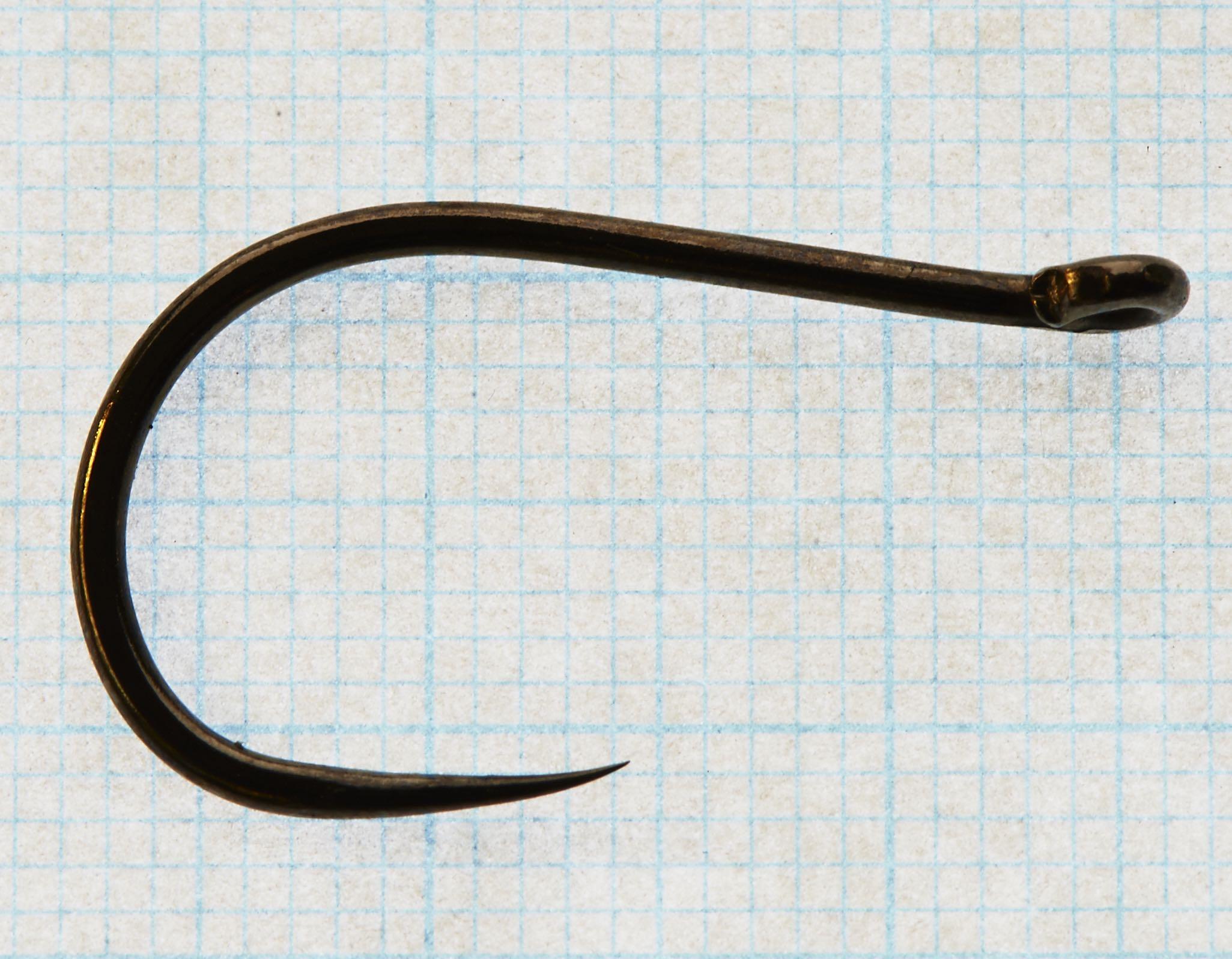 Patriot Barbless Stinger # 1 Partridge tube fly hook