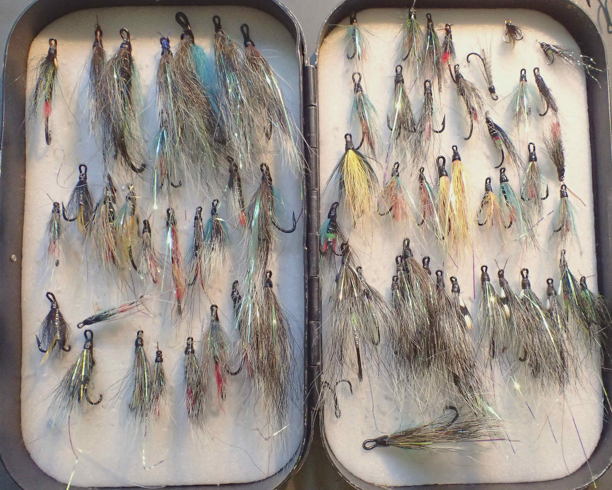 Blue Charm Salmon Fly