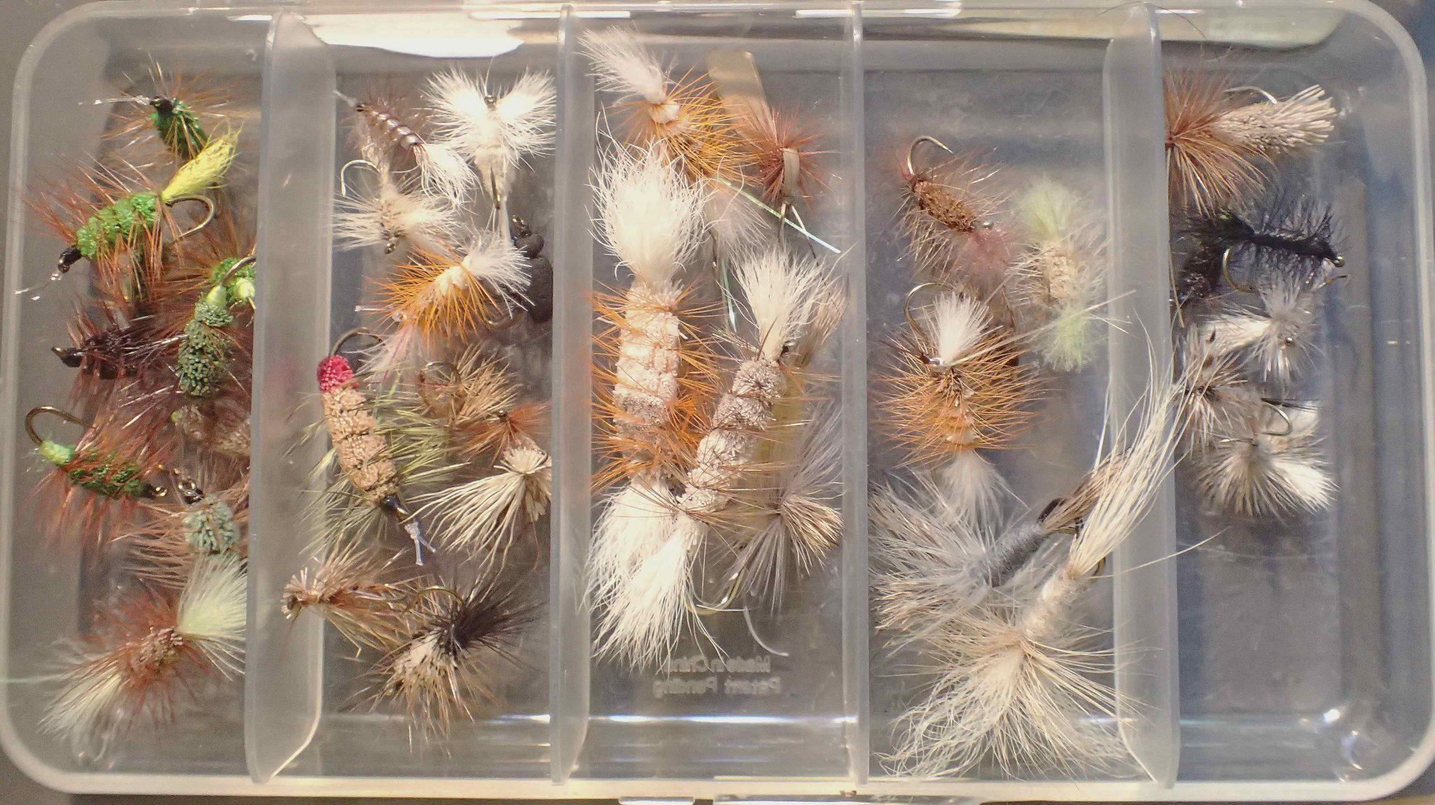 Small Salmon Dry Flies