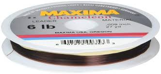 Maxima chameleon perfect for dry fly