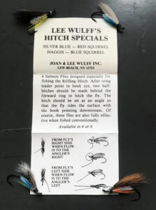 Lee Wulff Hitch Specials