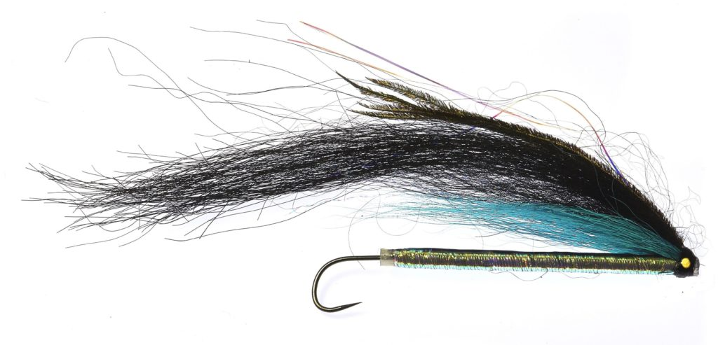 Sunray Shadow tube fly pearl