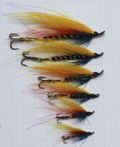 Waddington shank salmon fly