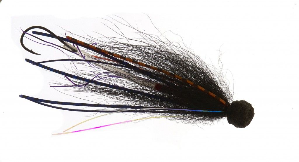 Sea trout surface fly - danish sea trout fly