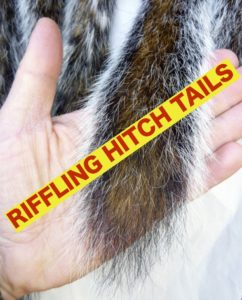 Riffling hitch fly tying