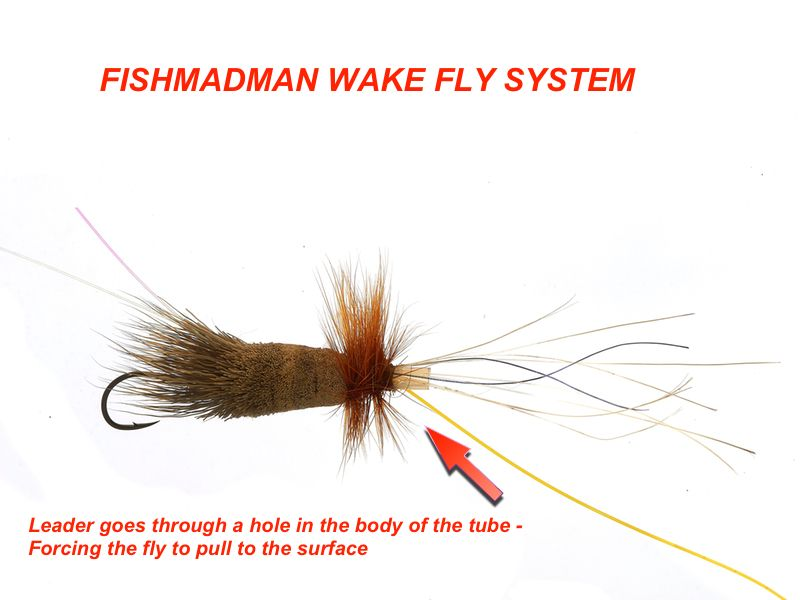 Steelhead wake fly