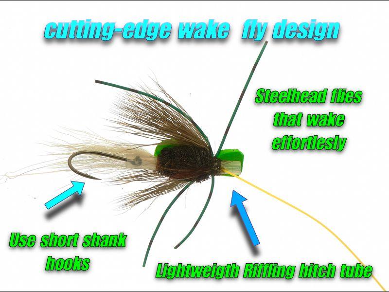 steelhead fly design on tube