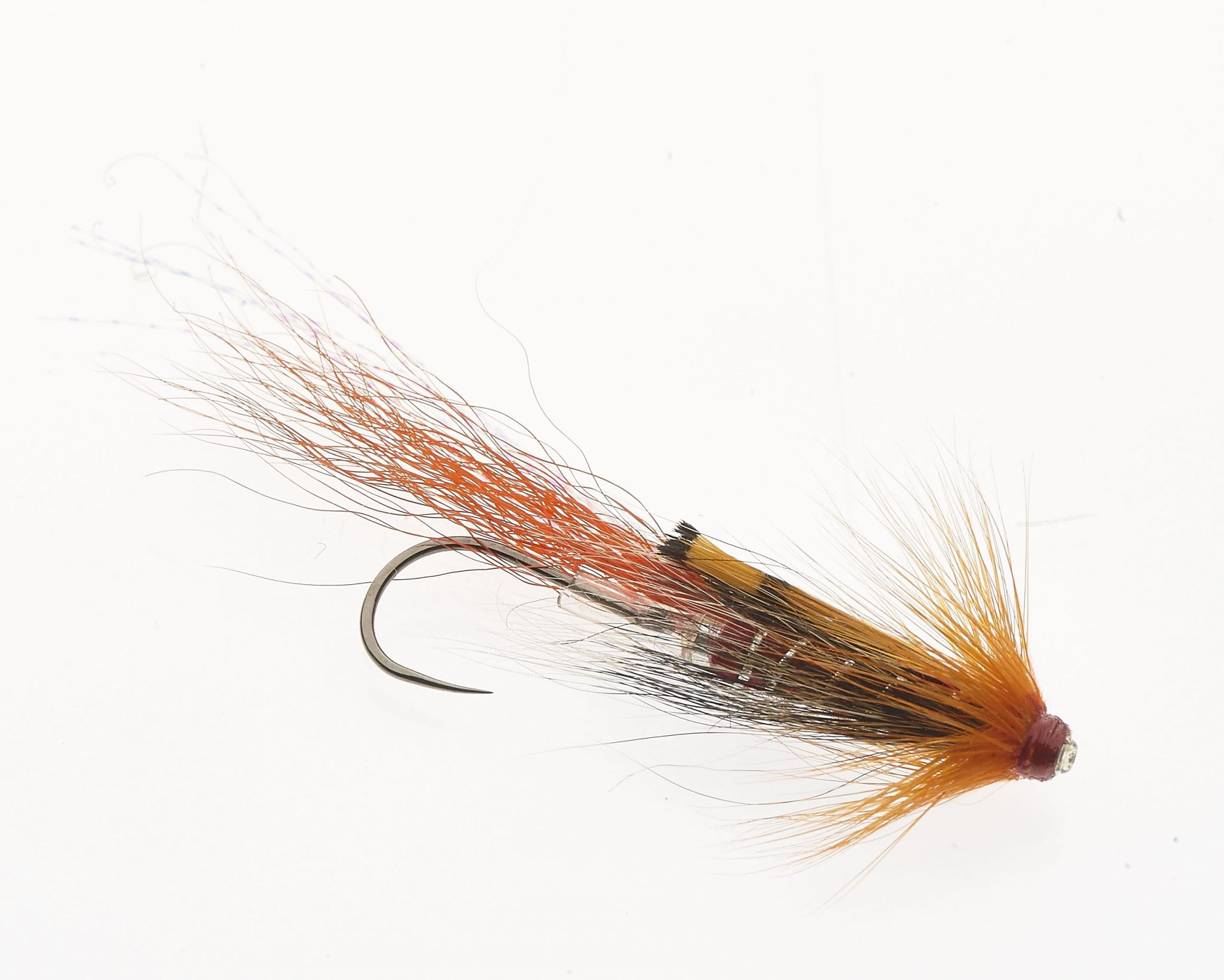 Fishing Flies Truite Mouches taille 10 CONEHEADS 8 x Red Conehead Balles